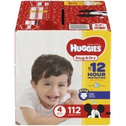 HUGGIES SNUG AND DRY DIAPER...