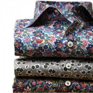 IMPERIO TAILORED FLORAL SHIRTS