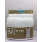 M&S PURE COTTON SLEEVELESS...
