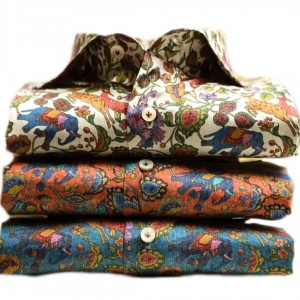 TAILORED FLORAL SHIRTS FOR MEN
