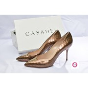 GOLD SKIN SHOE BY CASADEI