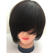 FRINGE SHORT STRAIGHT WIG