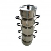 STAINLESS COOKING POT SET