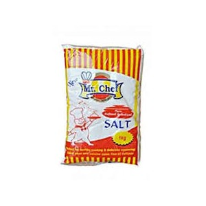 MR CHEF IODIZED SALT 1KG