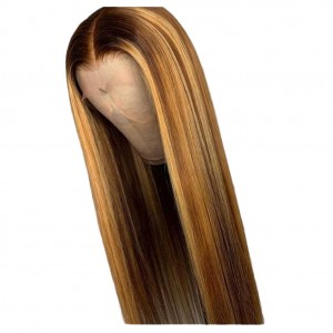 RAW VIRGIN HIGHLIGHTS BONE STRAIGHT LUXURY