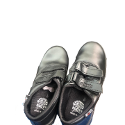 ROOTS BLACK LEATHER SHOE...
