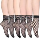LADIES ANKLET NET SOCKS