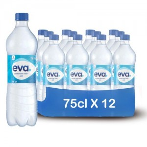 EVA TABLE WATER 75CL X 12